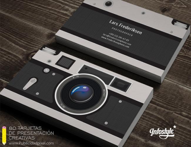dise u00f1o de tarjetas de presentacion para fotografia
