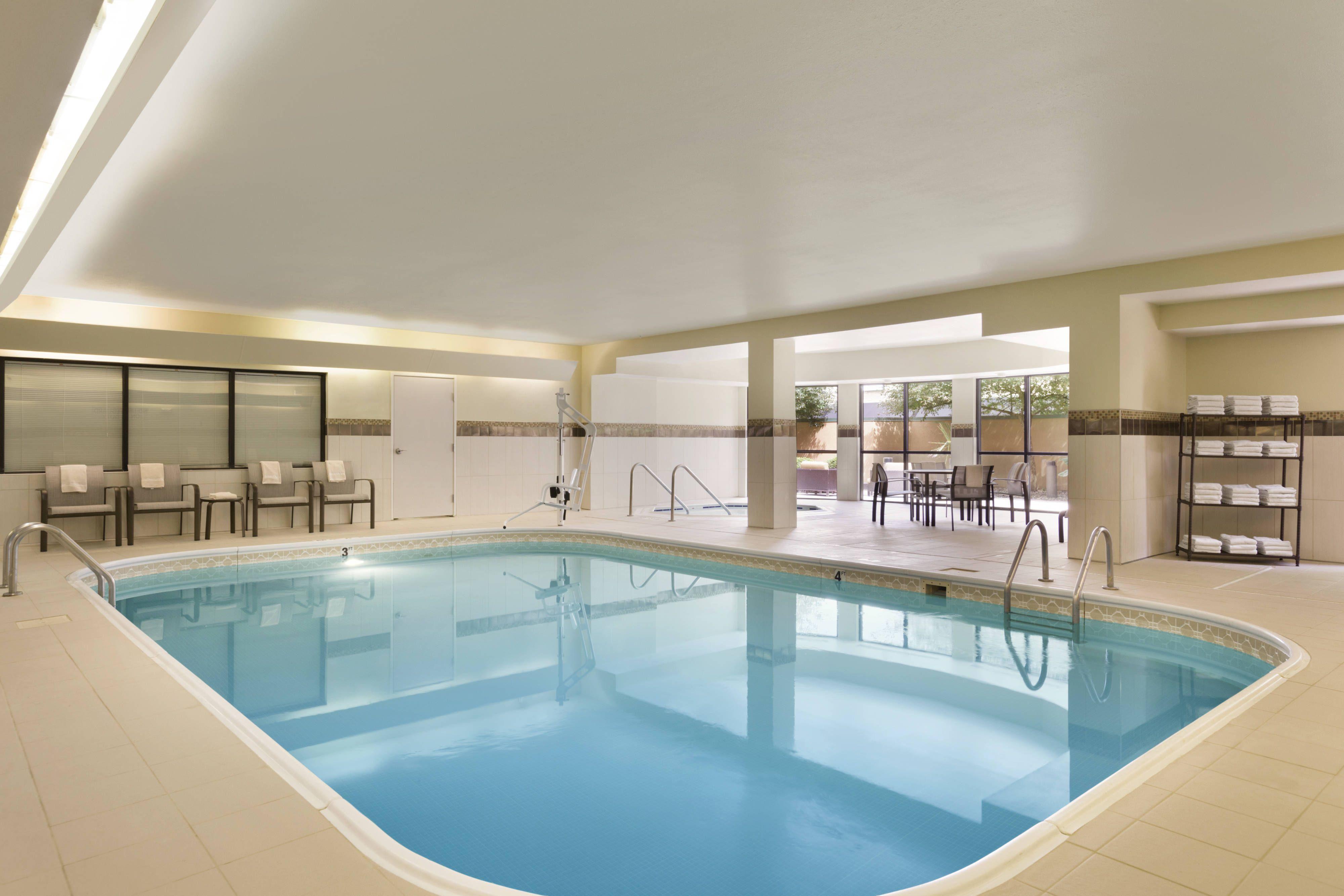 Courtyard Bloomington Normal Indoor Pool #GuestRoom, # ...