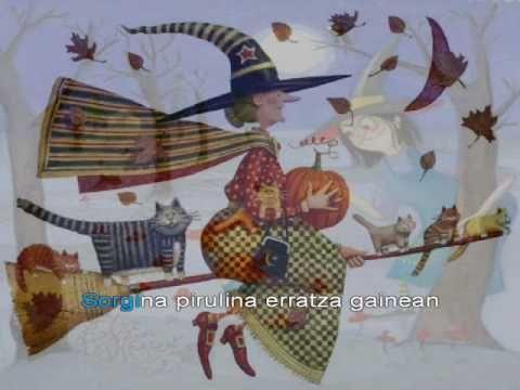 Sorgina Pirulina Takolo Pirritx Eta Porrotx Baby Mobile Painting Art