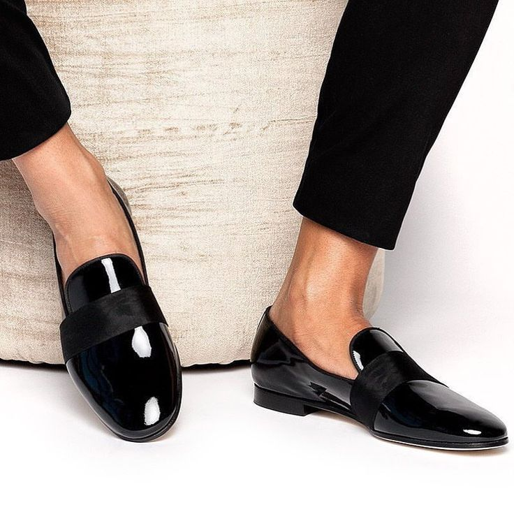 Glossy black Loafers | Gents shoes