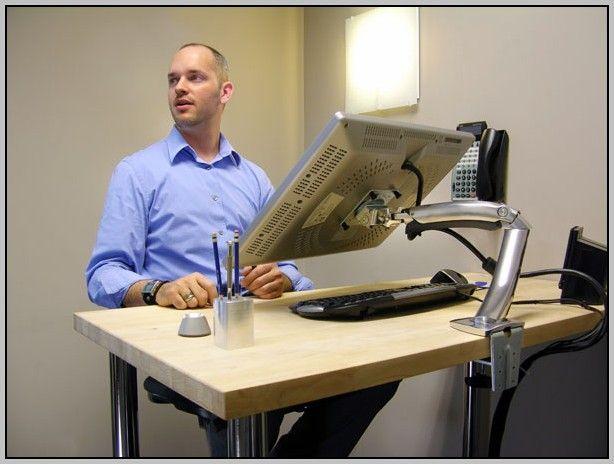 Ergotron Lx Sit Stand Desk Mount Lcd ArmHome Design Ideas   Desk