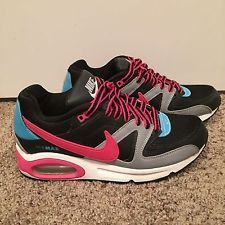 Women's Nike Air Max Command Pink/Blue/Gray/Black Shoes Rare Sneakers Size 8.5 http://ift.tt/1WKTblV