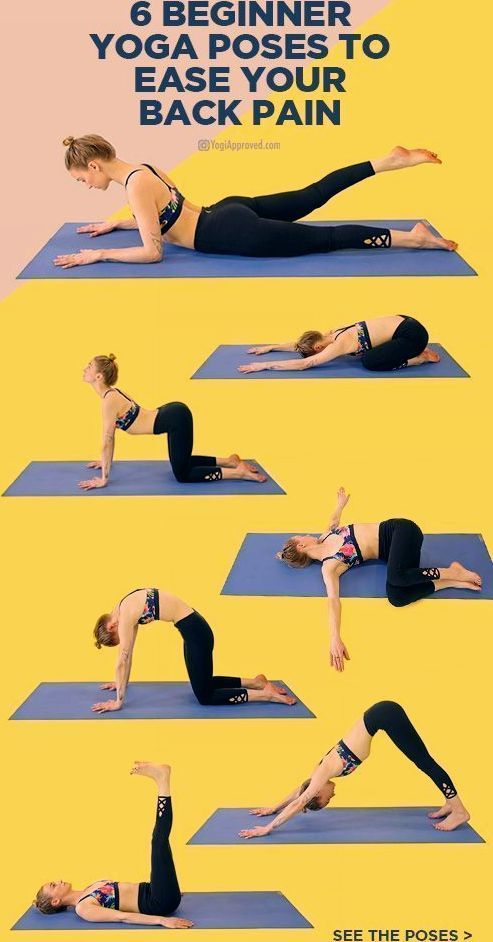 Photo of Diese 6 Yoga-Übungen für Anfänger lindern Ihre Rückenschmerzen, #beginner #d …