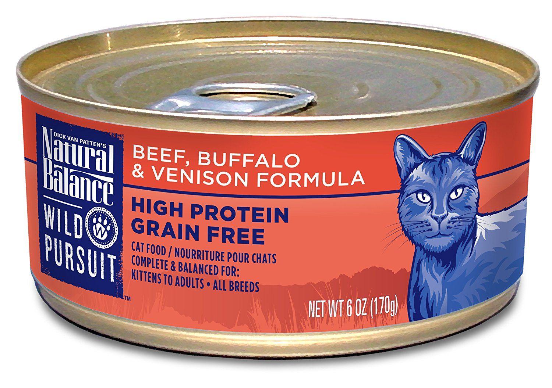 Natural Balance Wild Pursuit Wet Cat Food >>> Discover
