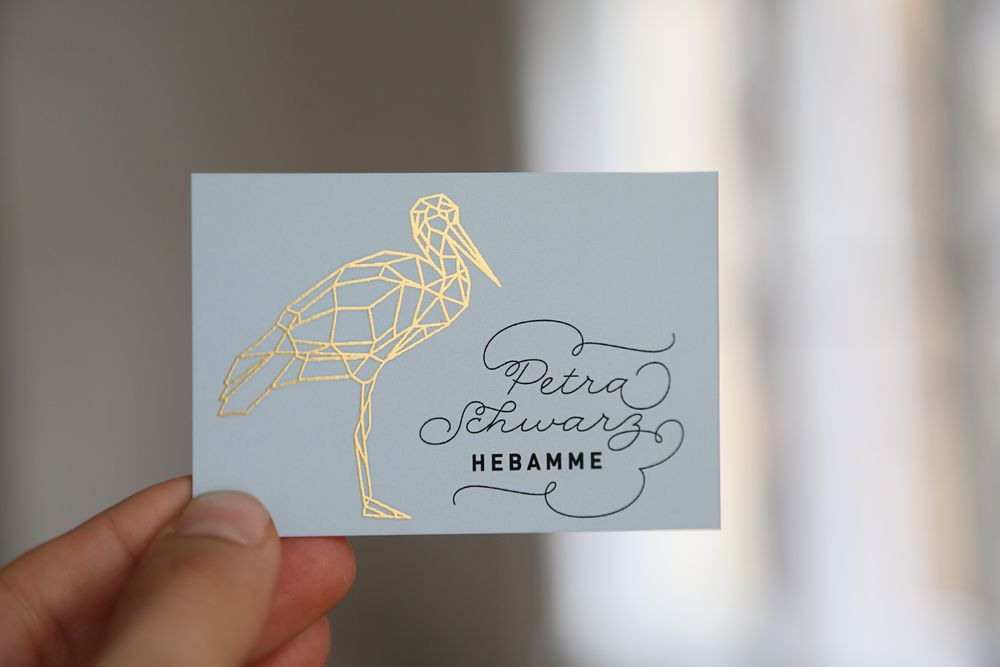 Businesscards For Midwife Petra Schwarz 5c Print 6