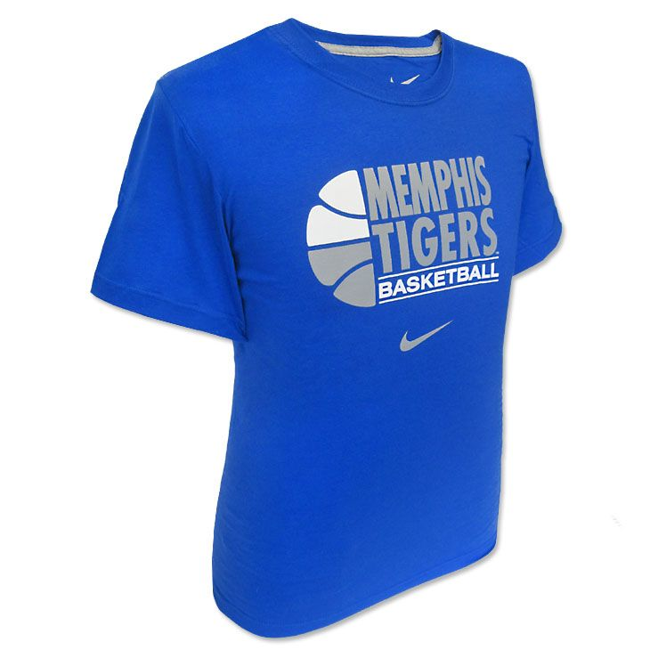 Nike Memphis Tigers Basketball T Shirt Tiger Gear We