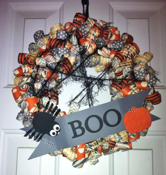 boo wreath