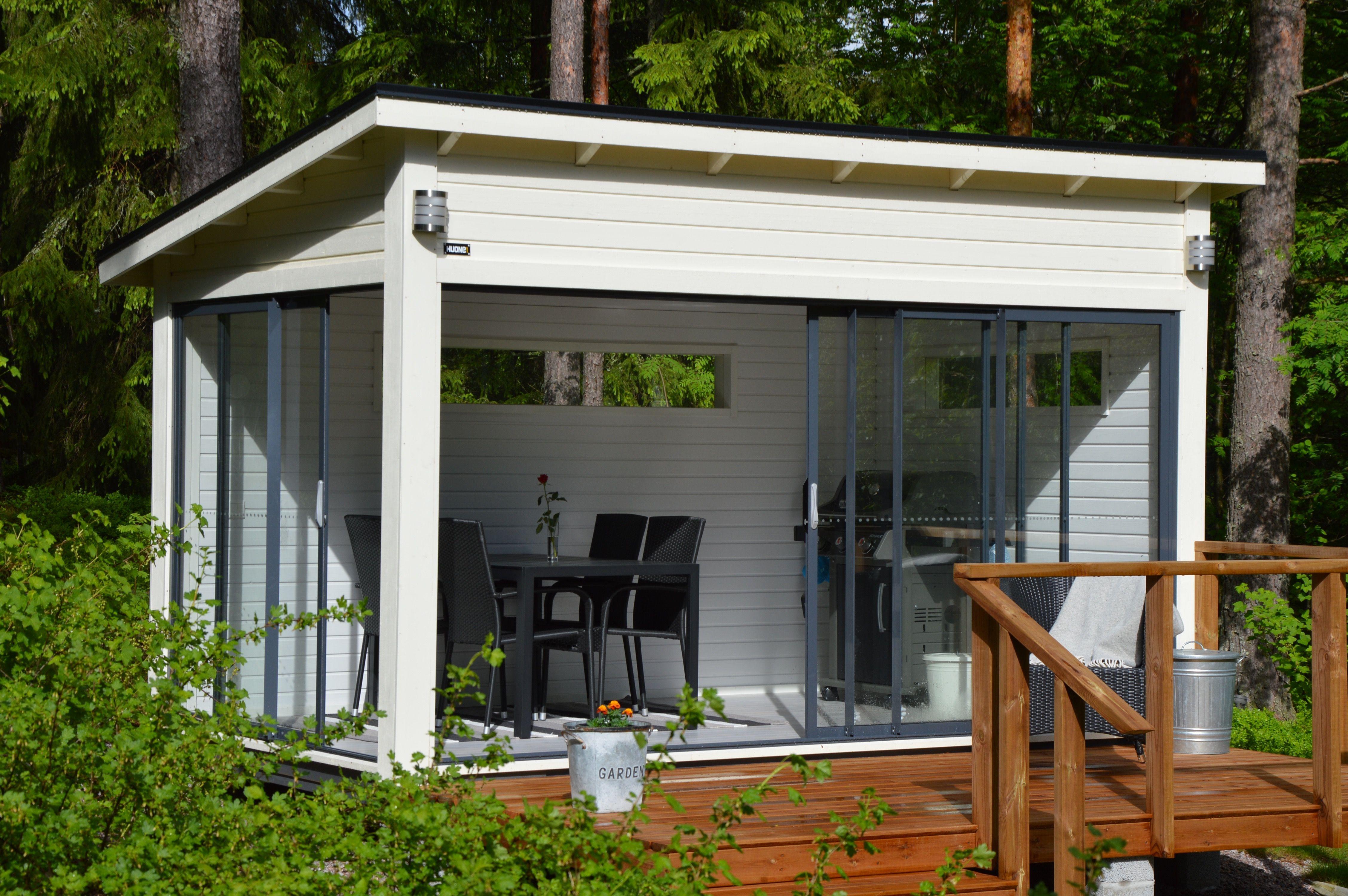 Monikäyttöinen pihahuone | outdoor living | Pinterest | Outdoor ...