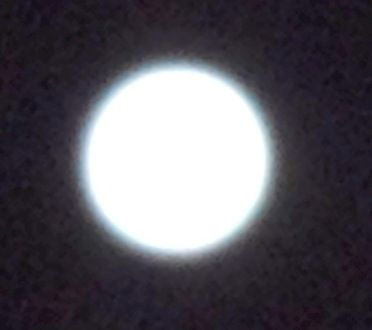 Full Moon in  Knoxville Tennessee  8/20/13