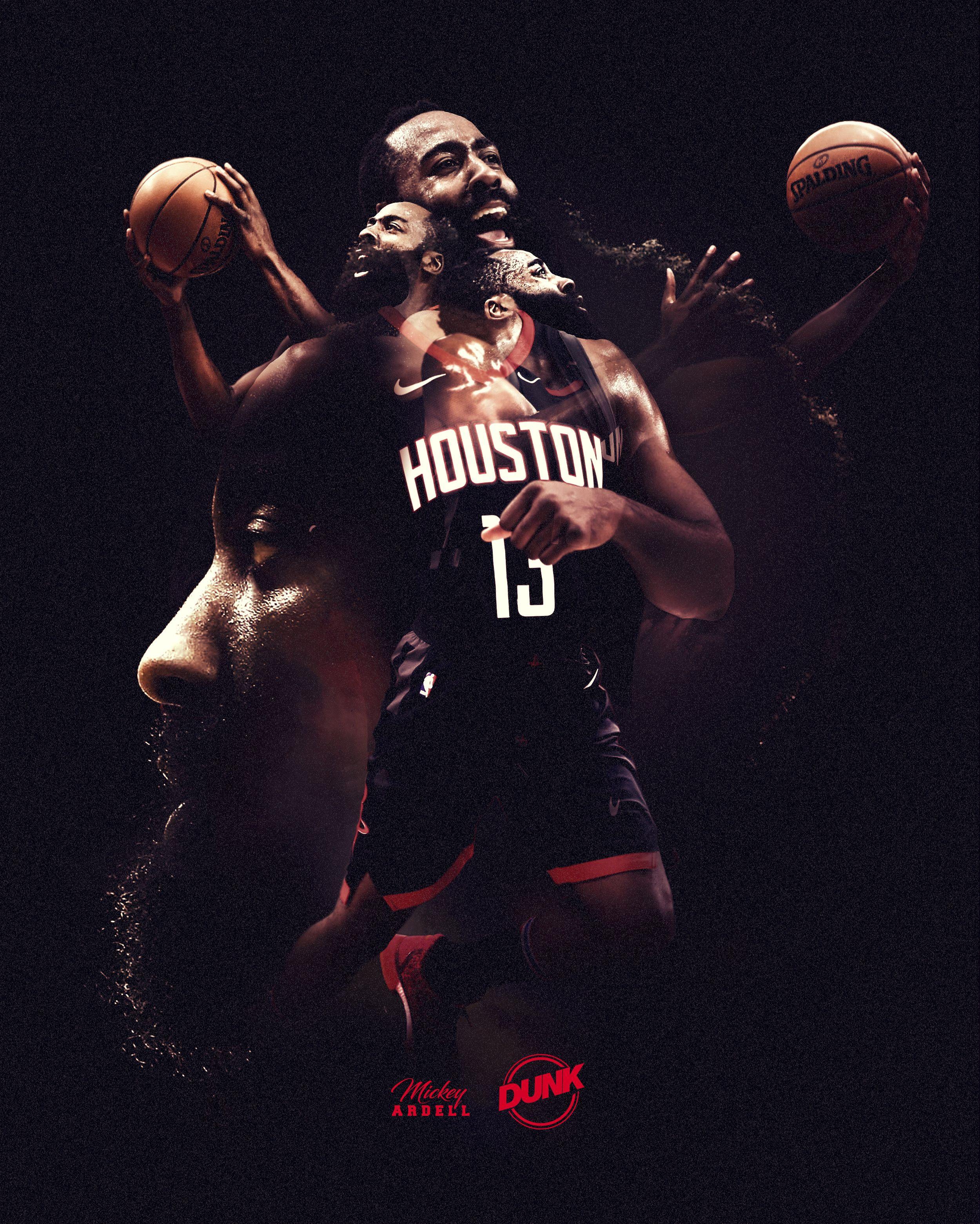 James Harden x Houston Powered by Dunk. Designer Mickey