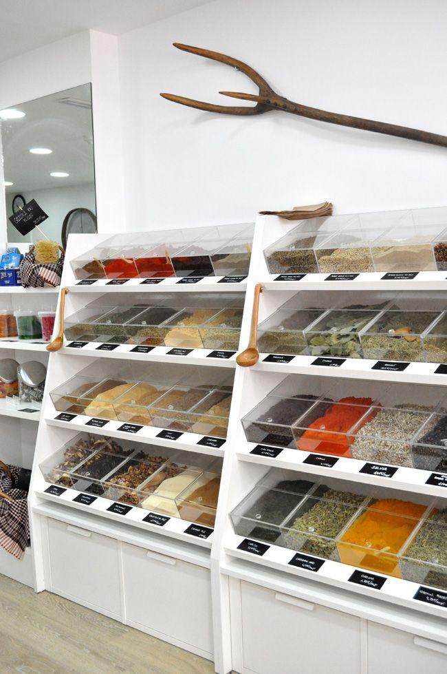 Dietetica comida tiendas muebles para tienda y tienda for Tiendas de muebles para restaurantes
