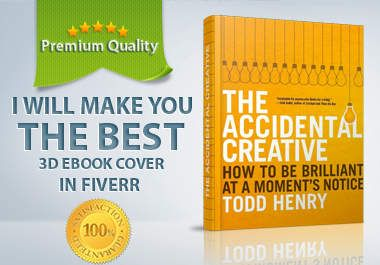 I will make you the best 3D ebook cover in Fiverr for $10