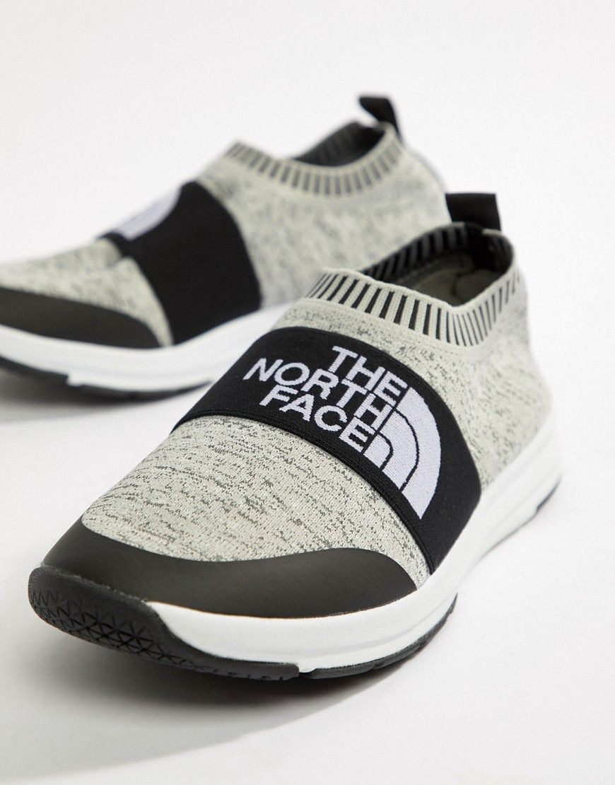 6fd96d4be THE NORTH FACE NSE TRACTION KNIT MOC SOCK SNEAKERS IN HEATHER GRAY ...