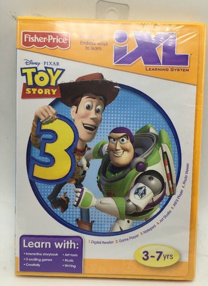 fisher price ixl learning system software toy story 3 new fisher rh pinterest com Fisher Price Online IXL Pink
