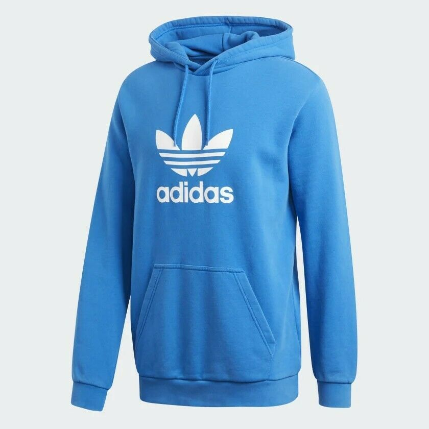 Nwt Mens Adidas Trefoil Pullover Hoodie Sz Large 40 Off Msrp Dt7965