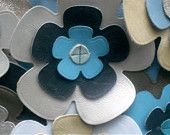 Leather Flower Detail