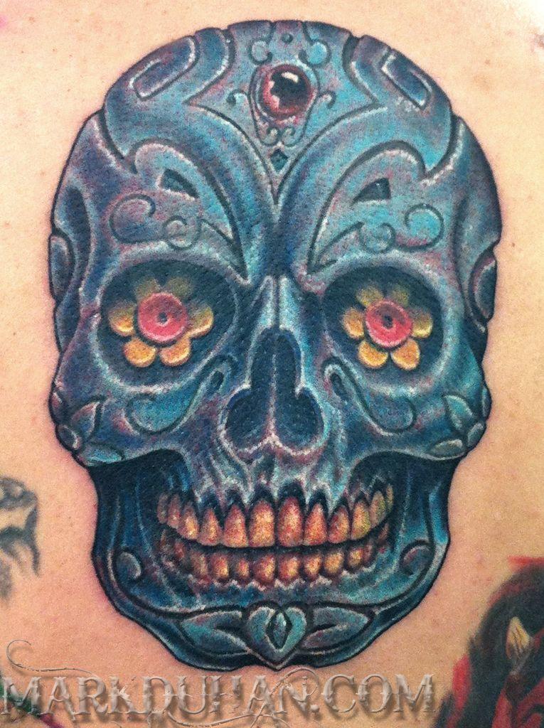 Masculine Sugar Skull Sugar Skull Tattoos Sugar Skull Images Skull