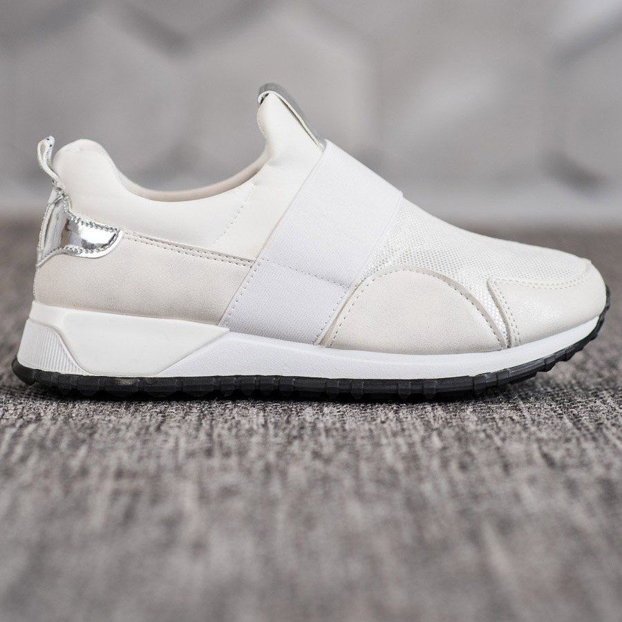 Shelovet Wsuwane Buty Na Platformie Biale Top Sneakers Puma Fierce Sneaker High Top Sneakers