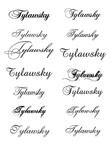 Best Fonts For Tattoos : fonts, tattoos, Fonts, Tattoo, Fonts,, Script