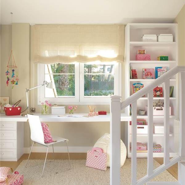15 habitaciones perfectas para estudiar ideas de cuartos - Habitaciones de estudio ...