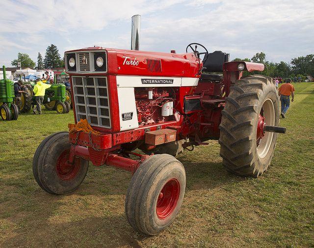 International 1566 Turbo International Tractors Tractors Farmall
