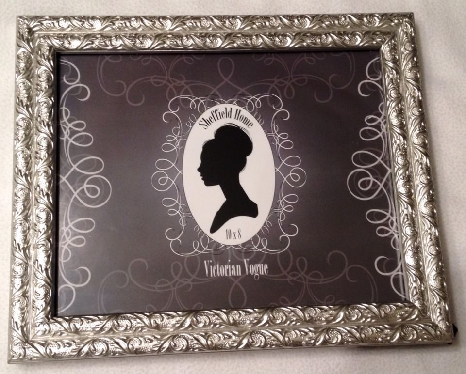 NWT Sheffield Home 10x* Victorian Vogue Silver Picture Frame Vintage ...