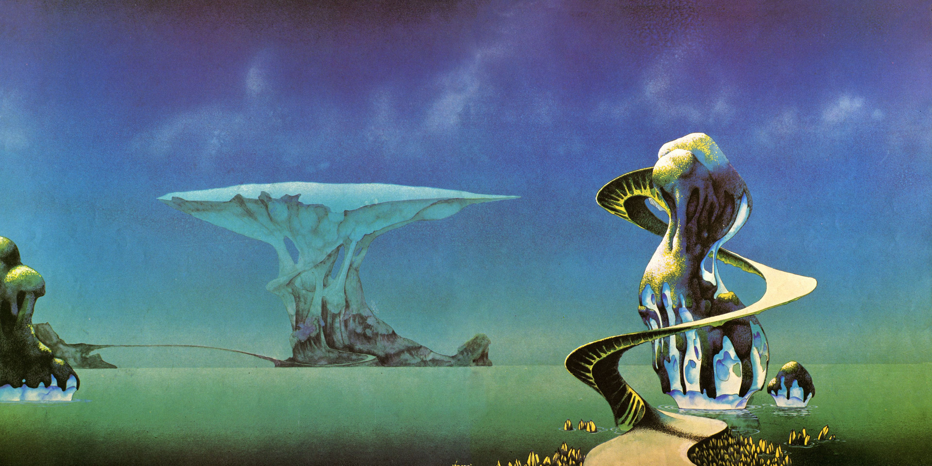 Roger Dean 023 Jpg 3840 1920 70s Sci Fi Art Fantasy Illustration