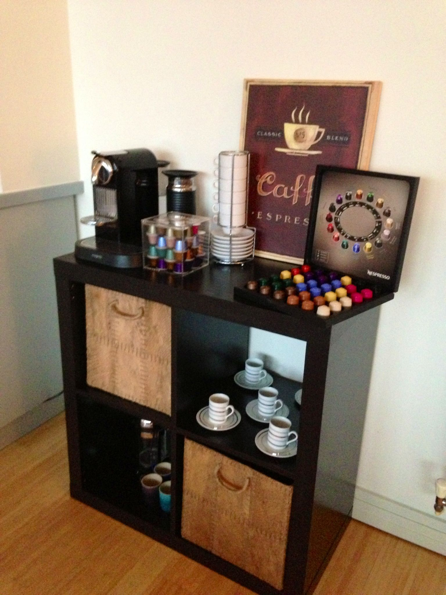 My Newest How To Make Ikea Look Expensive Project Coffee Bar
