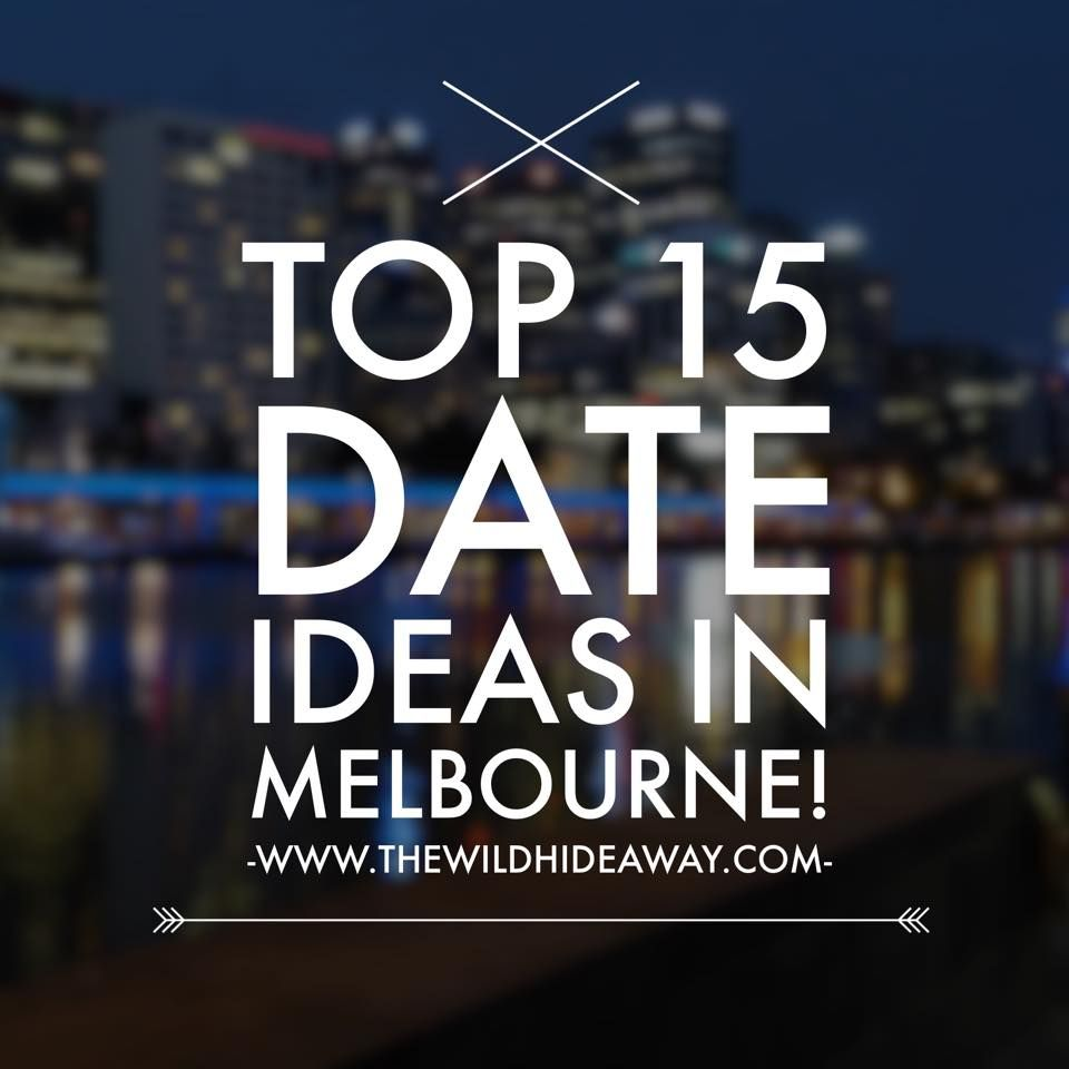 Where to go on a date in Melbourne