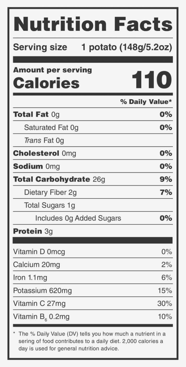 Nutrition Birthday Nutrition Facts Label Template For Nutrition Label Template Word Nutrition Facts Label Potato Nutrition Nutrition Labels