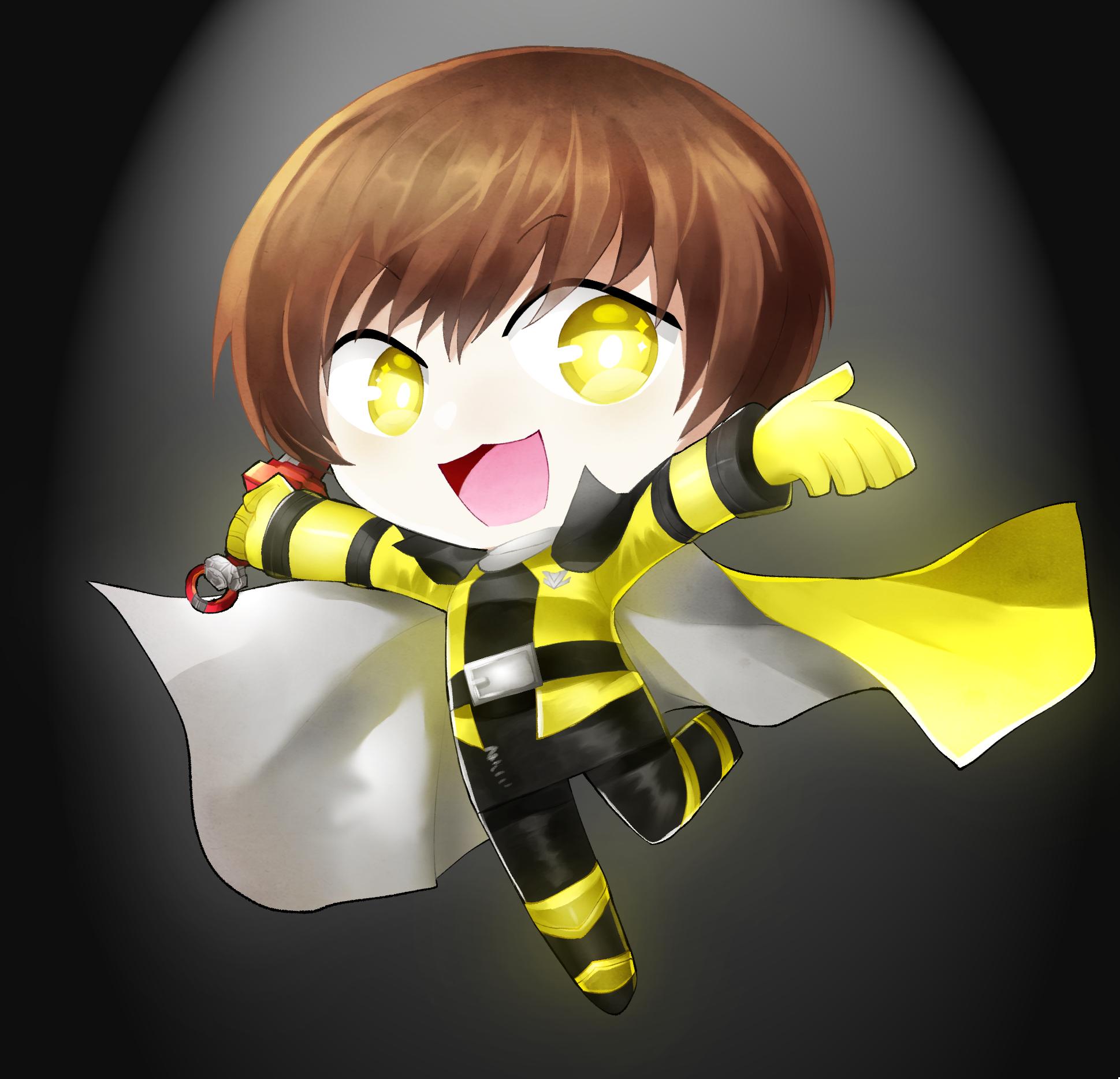 Chibi Lupin yellow Seni