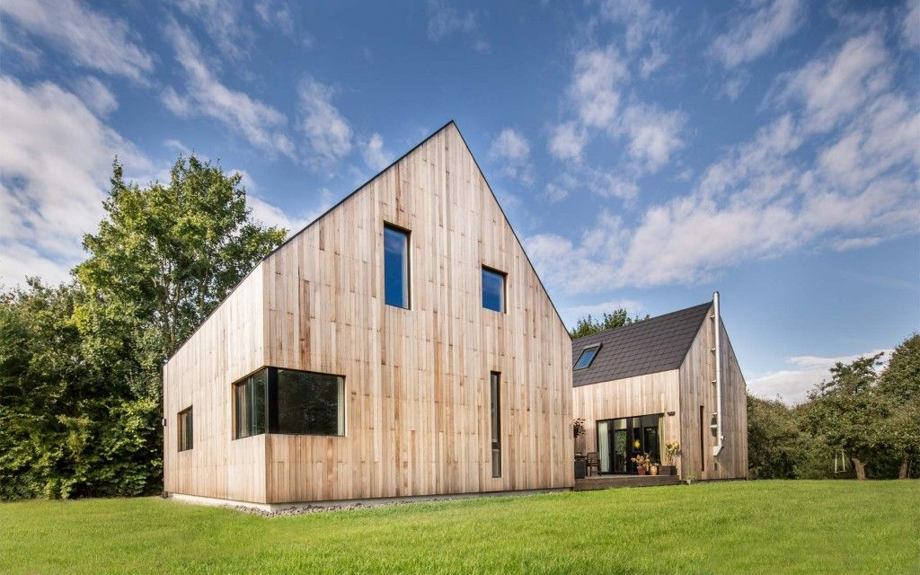 Haus Autzen - CHRISTIAN STOLZ architecture Pinterest Hamburg - geometrische formen farben modernes haus