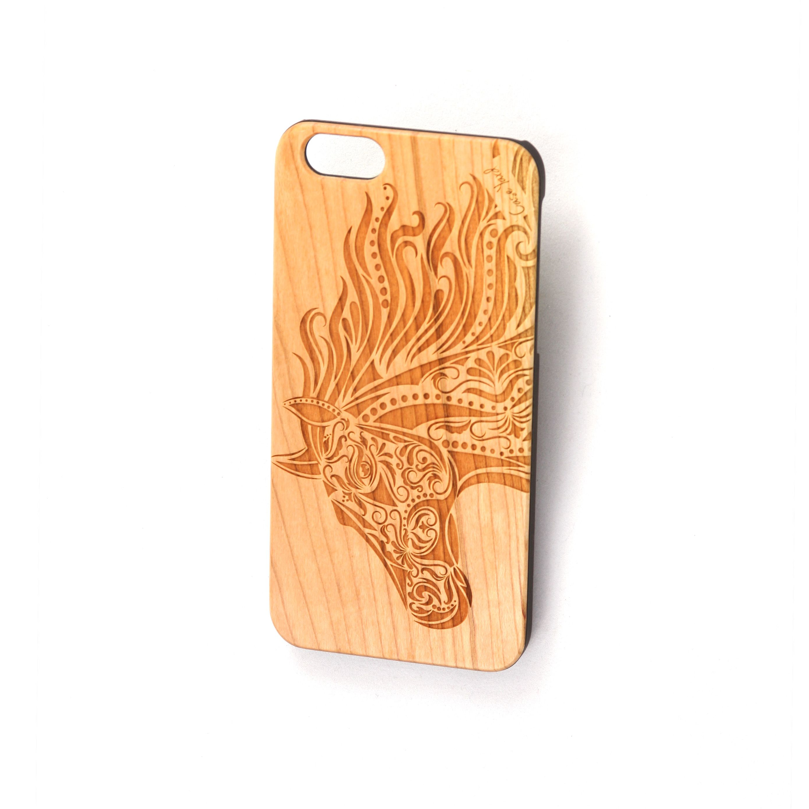 outlet store eff2a ce851 Wooden horse iphone case | Case Yard | Wooden phone case, Iphone ...