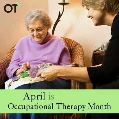 April Is Occupational Therapy Month Stuff I Like Pinterest