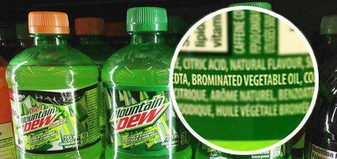 There S Flame Retardant In Your Mountain Dew Soda W Lime Green Hue Other Citrus Flavored Soda Won T Keep Your Insides Fir Mountain Dew Health Info Drinks