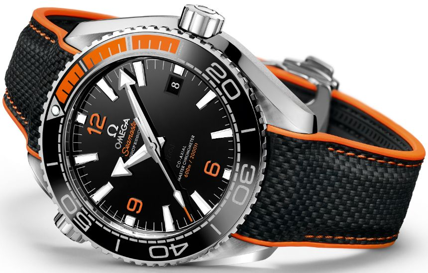 "OMEGA Seamaster Planet Ocean Master Chronometer Watch - by Richard Cantley -""For Baselworld 2016, Omega is making sure their Seamaster Planet Ocean line gets a refreshed look along with a METAS-certified Master Chronometer movement. With a splash of orange, we welcome the Omega Seamaster Planet Ocean Master Chronometer watch in 43.5mm. You may have seen the teaser for this in your Instagram feed, and the reveal does not disappoint..."""