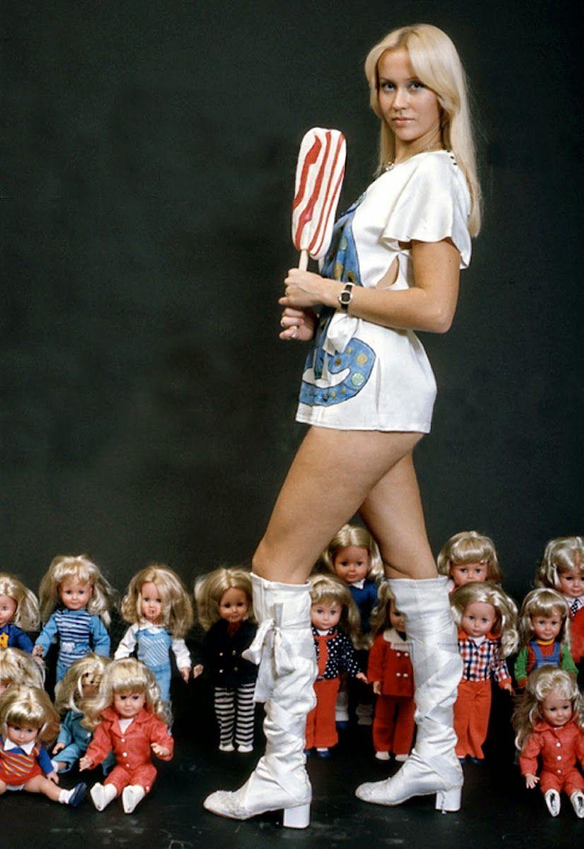 ABBA Fanatic Faltskog Lollipop Pics ! Abba in