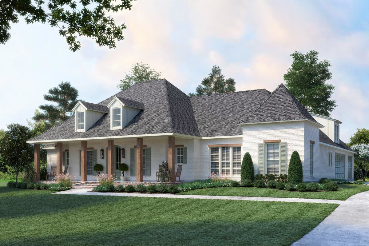 Exclusive Southern Charmer With Outdoor Grilling Porch Acadian