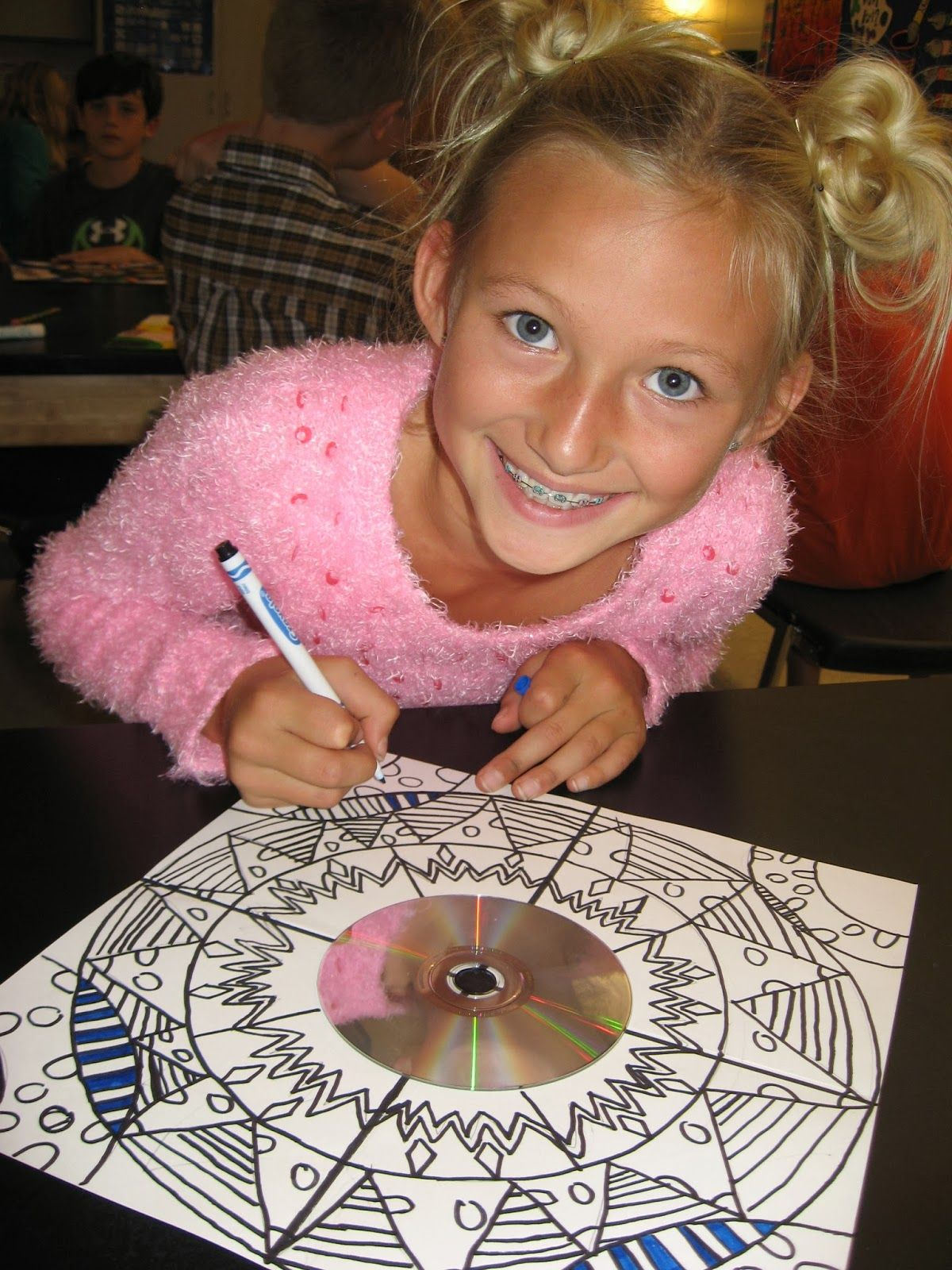 Jamestown Elementary Art Blog Reporting What I Learned About Mexican Mandalas And Radial