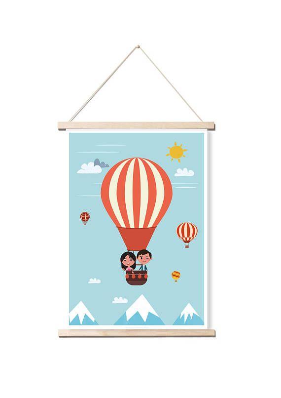 Affiche Chambre Enfant Aventure Tres Belles Illustrations Pour Une