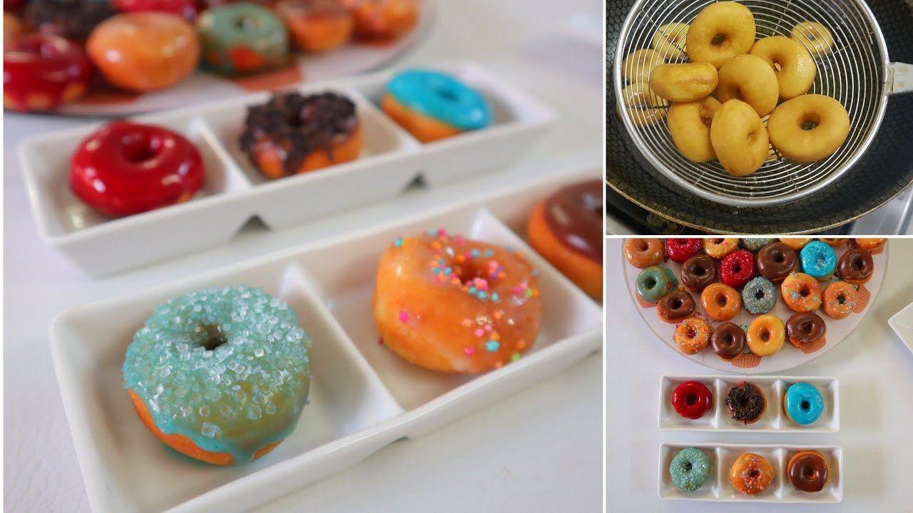 عملت أصغر دونات فى العالم و بالعجينة القطنية وتحدى Food Cooking Desserts