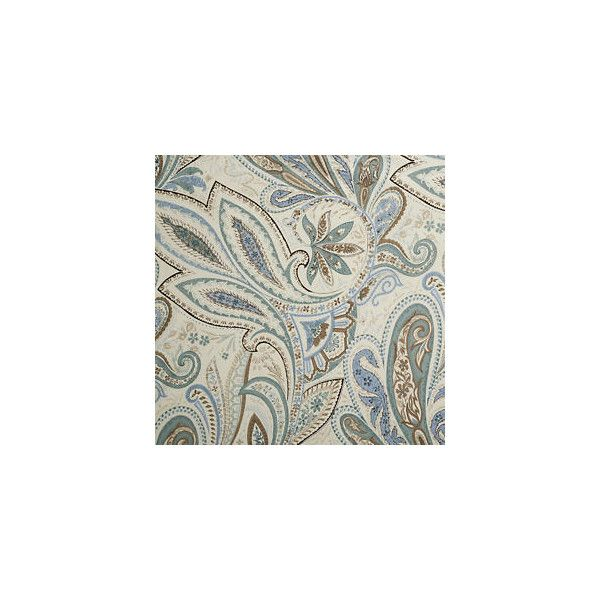Crate And Barrel Lindsey Paisley King Duvet Cover