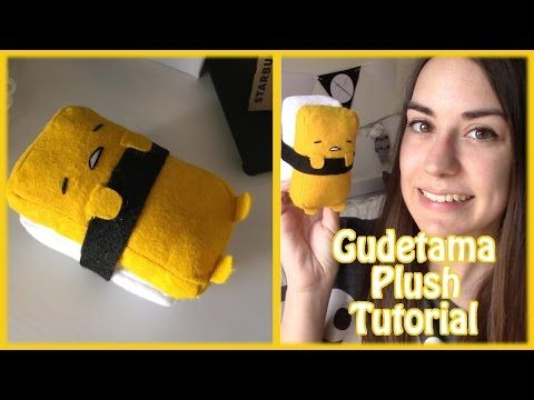 GUDETAMA plush TUTORIAL (ITA)   Chibiistheway - YouTube