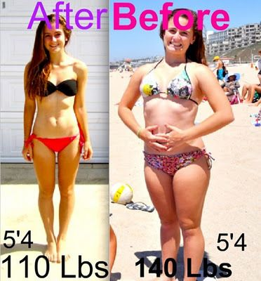 140 lbs - 110 lbs 30 pounds makes a big difference  Take a look here