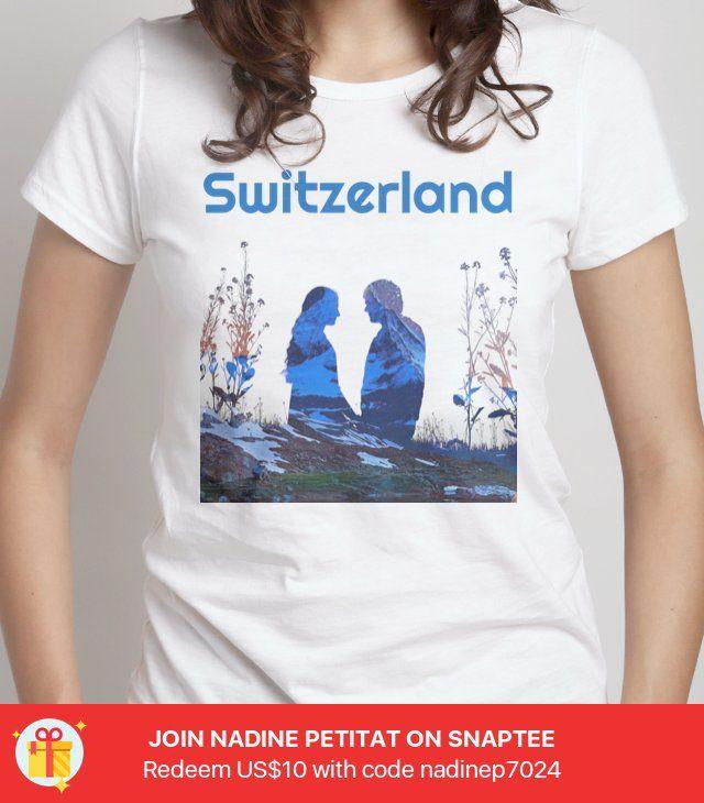 promo code af1c9 ae7e0 Switzerland -- Gestalte dein eigenes #Snaptee #tshirt | T ...