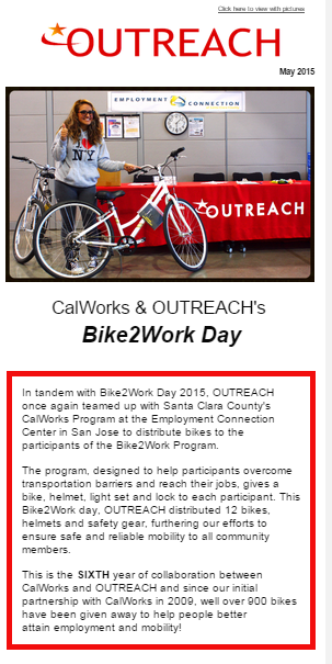 At long last! ALL of OUTREACH's Newsletters dating back to