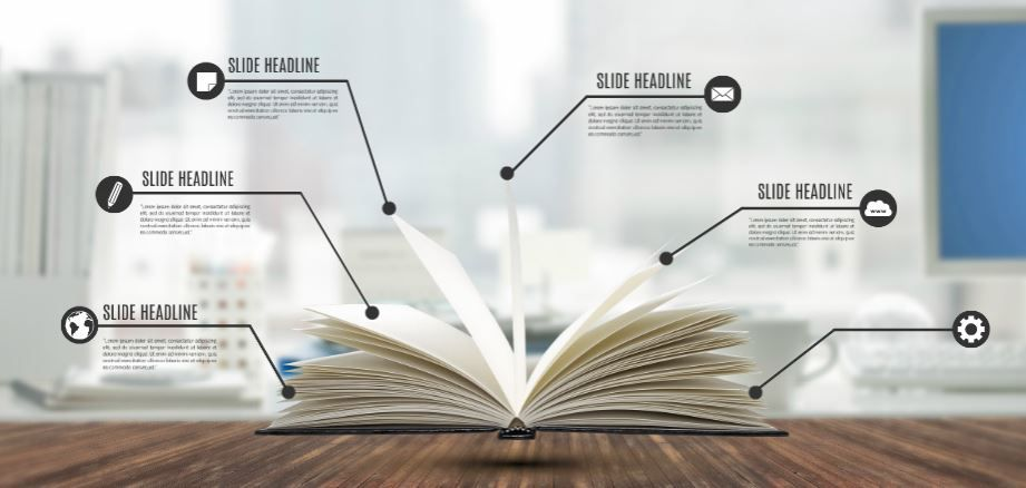 By The Book Presentation Template Sharetemplates Book