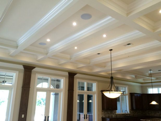 """""""S"""" Rectangular coffered ceiling 