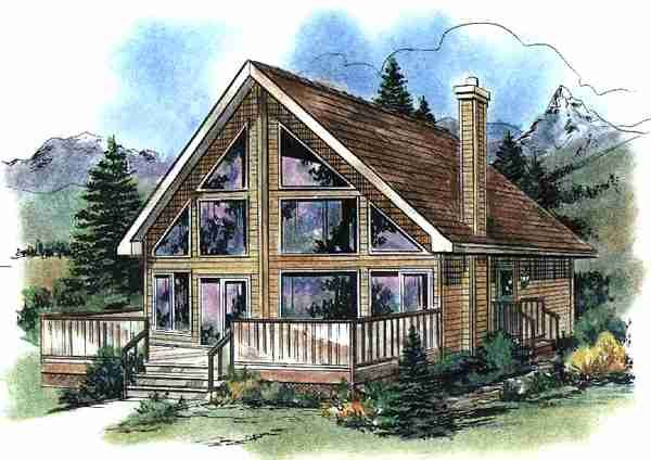 plan description small lake house plans with loft house plans