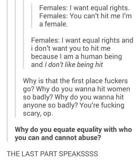 Bild Via We Heart It Equality Feminism Feminist Quote True